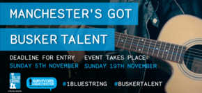 Survivors Manchester is calling for the city to nominate its best busker talent