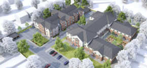 Work underway at new over 55s development in Formby