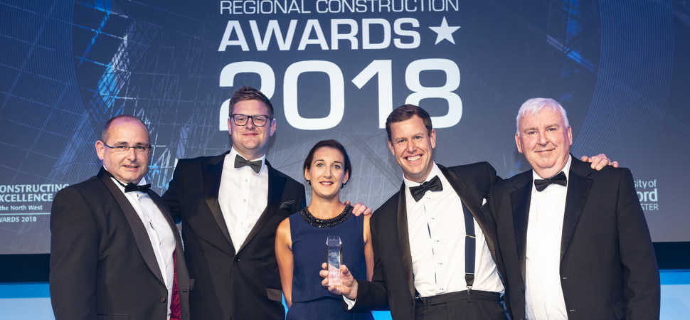 MC Construction celebrates award triumph