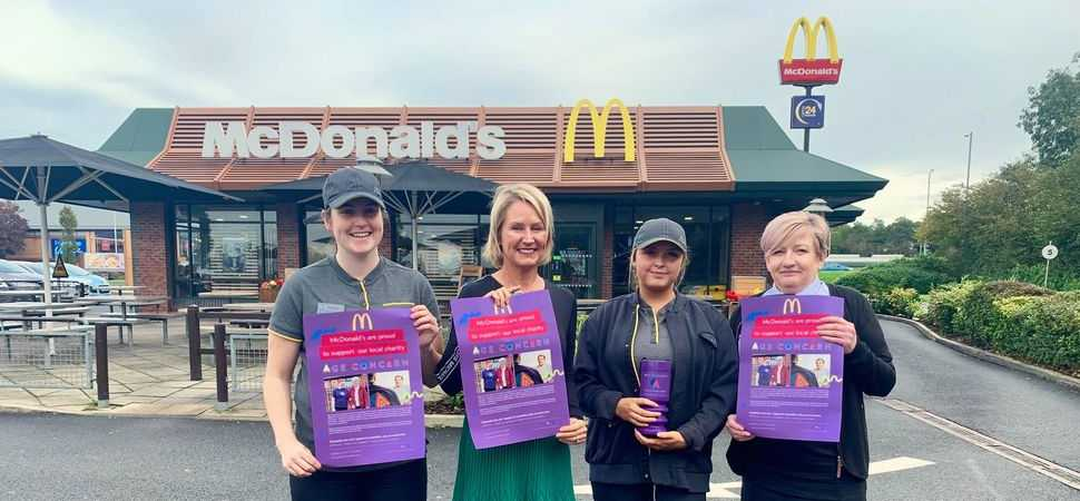 McDonald's joins the Age Concern flock