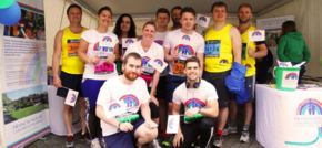 Towers Business Park runs for Francis House