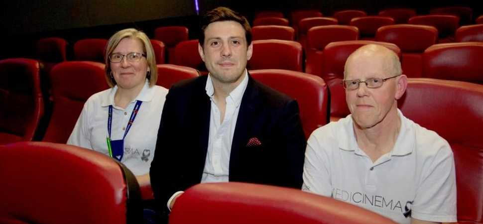 Cinema charity at The Royal Victoria Infirmary to benefit from £28,000 donation!