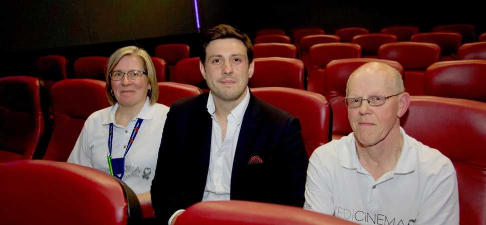 Cinema charity at the Royal Victoria Infirmary to benefit from £28,000 donation