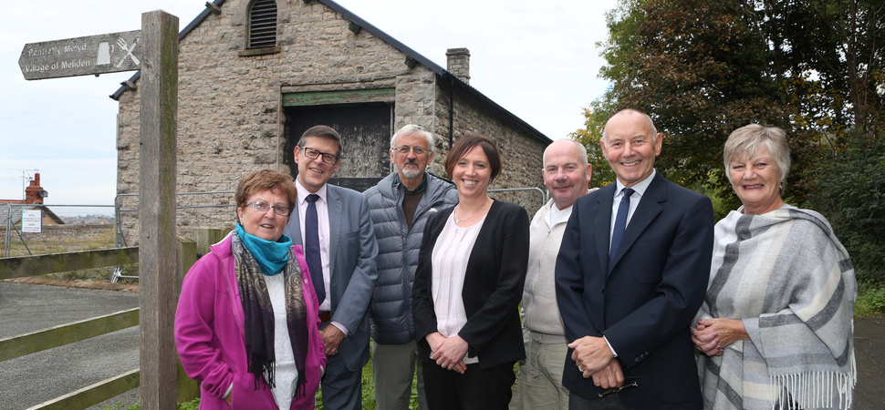 Goods shed visitor and enterprise centre conversion celebrates £1.1m grant