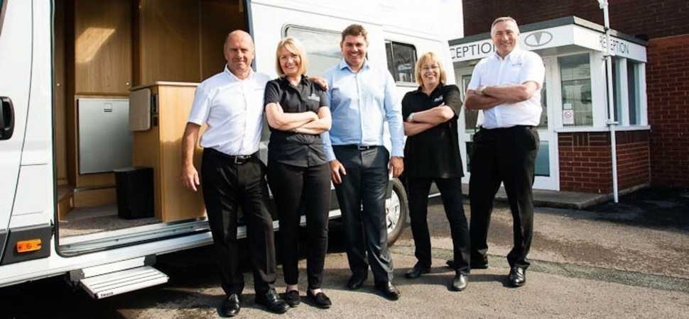 Birthday Celebrations at Vantage Motorhomes
