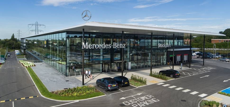 Mercedes-Benz of Stockport celebrates outstanding first year