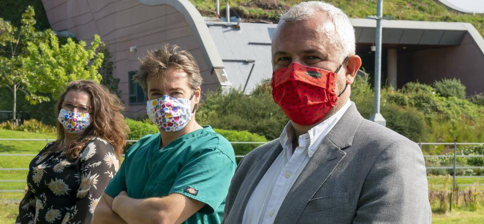 Ground-breaking UK-made face covering launched to help prevent spread of COVID