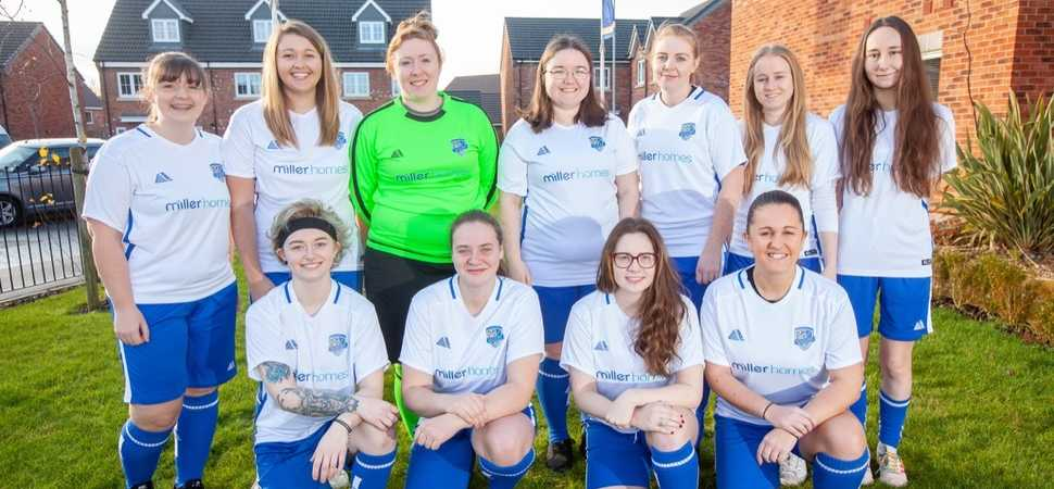 Hindley Juniors Women score new kit sponsorship