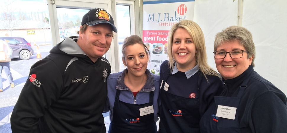 M.J. Baker Foodservice records 25 per cent increase in sales at annual show