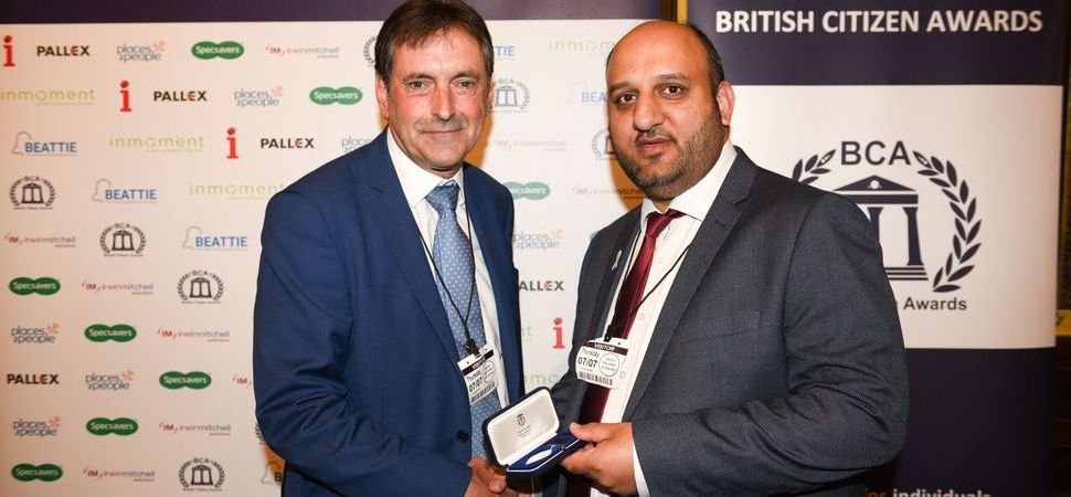 Local Community Leader's Work Celebrated at British Citizen Awards