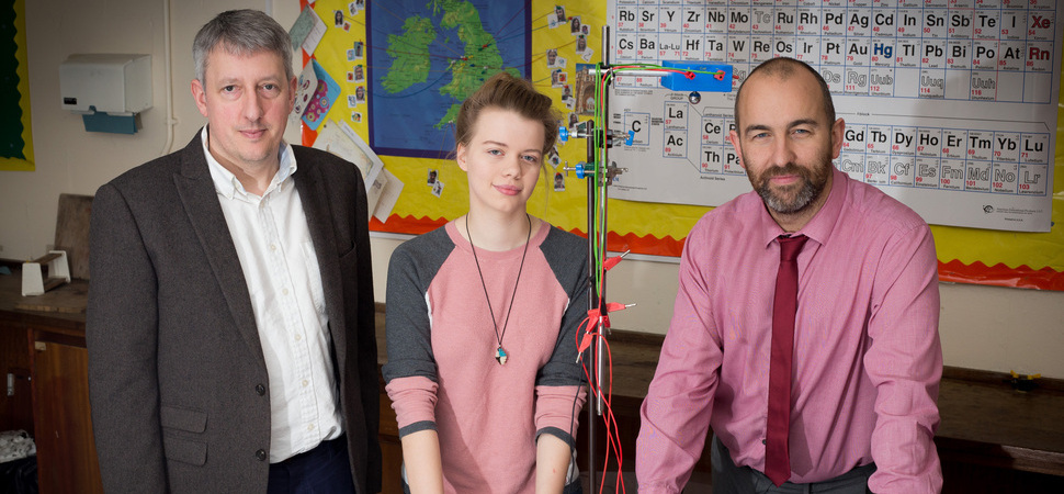 Flintshire student recognised for outstanding achievements in science