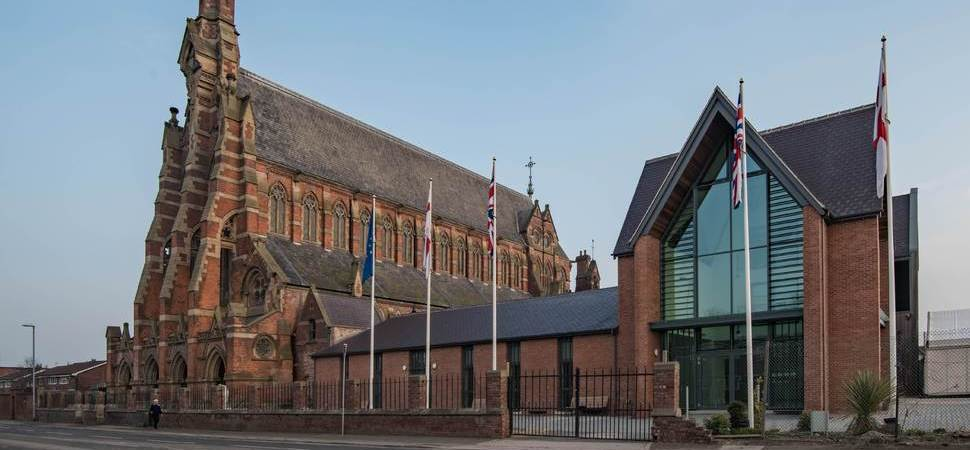 £3m Welcome Wing opens its doors at Gorton Monastery