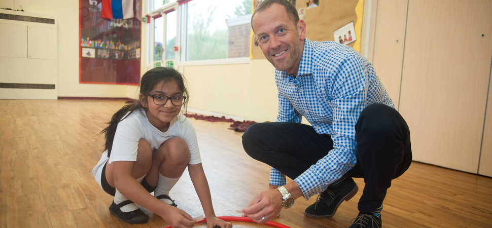 Maths of the Day offers 'Active Maths' with Youth Sport Trust