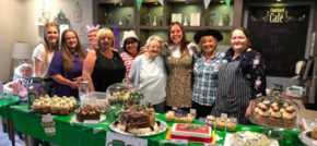 Carers brave head shave is icing on the cake at Worlds Biggest Coffee Morning