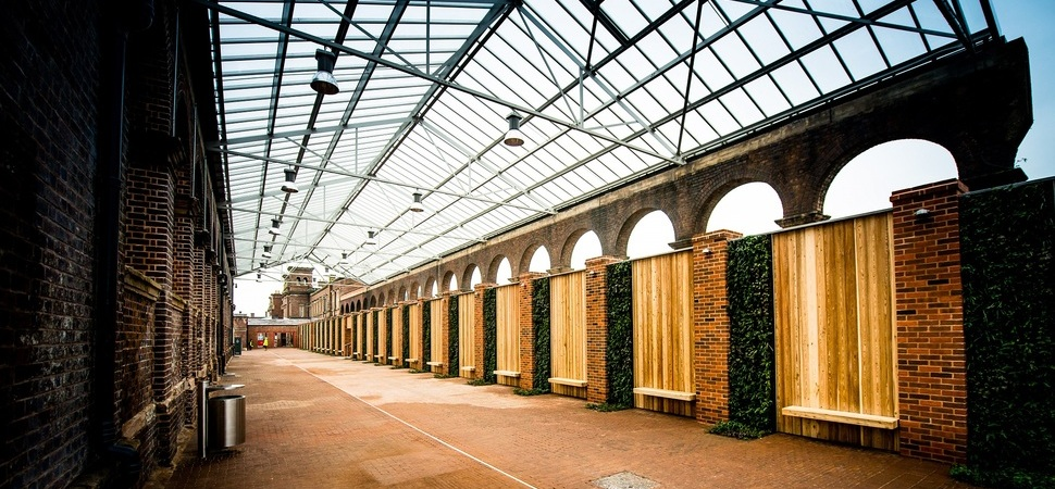 Restored Carriage Shed opens at City Place Chester
