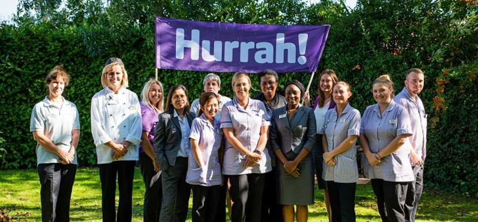 National care inspectors praise local care home