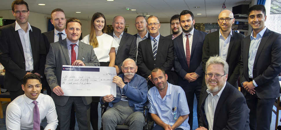 Ex-Royal Marine inspires NatWest colleagues to raise money for Broughton House