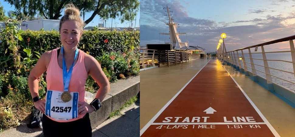 Hallidays Director runs Oslo marathon raising over £500 for Francis House