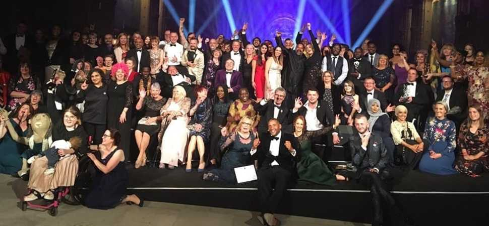 Campaigner joins diversity celebration at awards' night