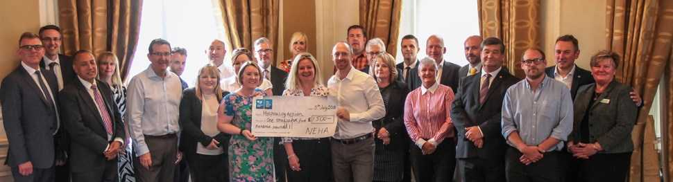Hoteliers give national trade charity a boost