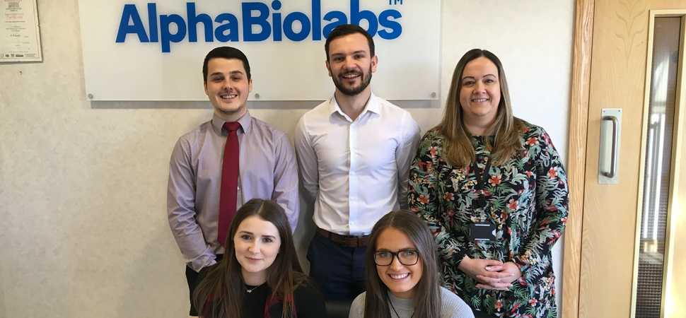 Raft of new arrivals at AlphaBiolabs as growth accelerates