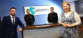 New starters at Gateshead's Advantex