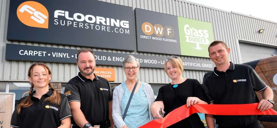 New store backs local charity