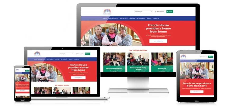 New Year, New Website for Francis House hospice