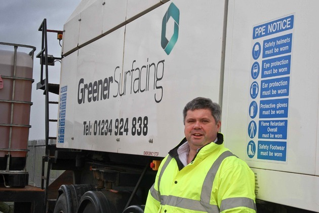 Lancashire's Greener Surfacing Joins Elite For National Recycling Award