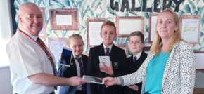 Local business donates 100 tablets to South Bank school