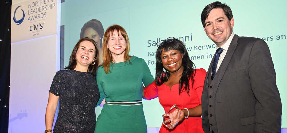 Women in the Law UK founder named Diversity and Inclusion Leader of the Year 2019