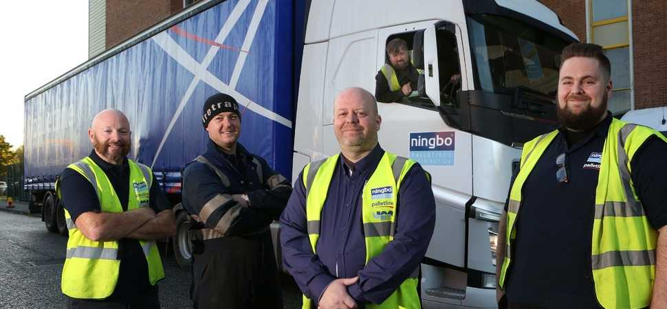 Eight new jobs at logistics firm after extending its Palletline network