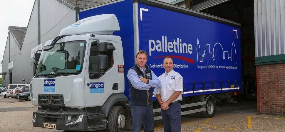 New Palletline areas signify 40 per cent jump in volume for Ningbo's London base