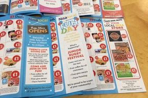 Europe first: Nisa gives stores personalised colour print