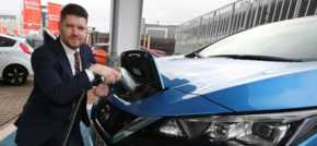 Electric vehicle accreditation for Macklin Motors Glasgow Central