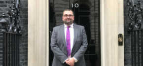 Tapscott Learning Trust CEO welcomed by Prime Minister at Number 10