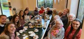 No Brainer teams up with community programme to host tea party for older people