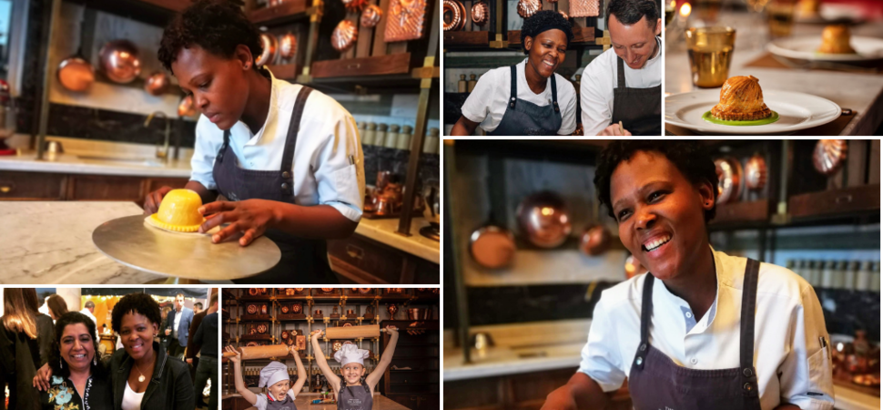 Interview with Nokx Majozi Sous Chef of Holborn Dining Room and The Pie Room in Rosewood London Hotel