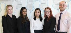 Eight New Solicitors Celebrate Qualification at Slater and Gordon