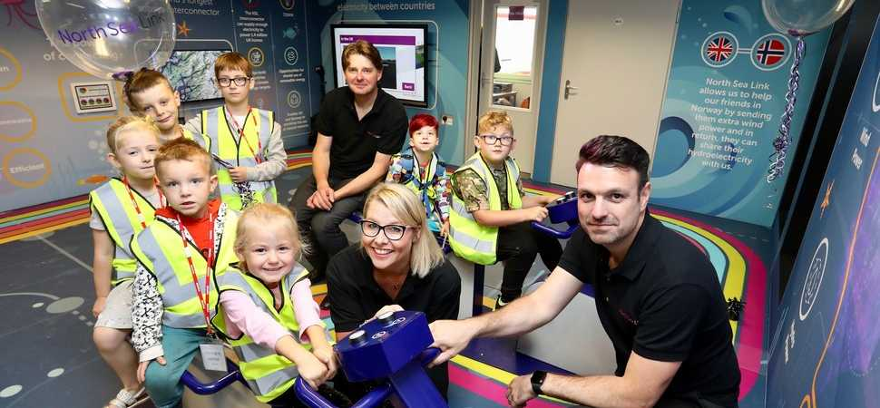 New energy Education Centre opens its doors to Northumberland schools