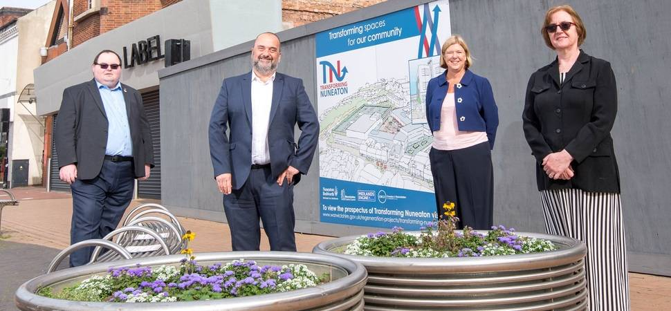 Major funding boost could create more jobs in Nuneaton town centre
