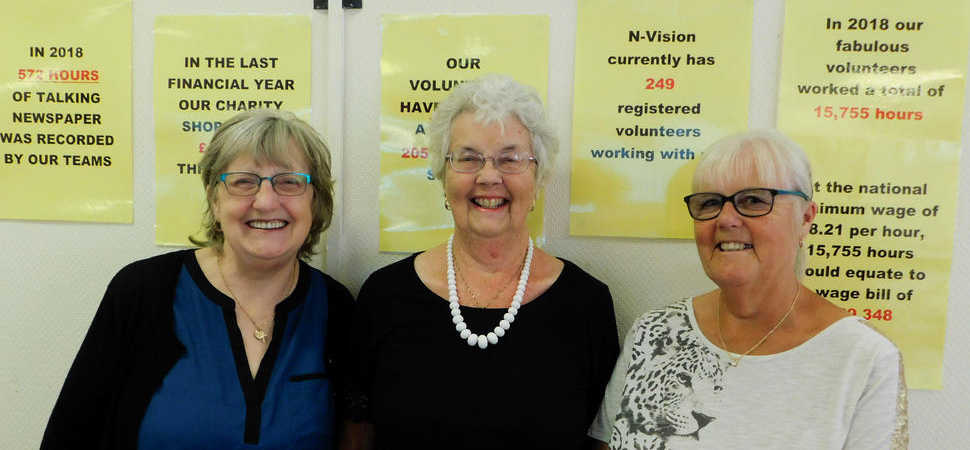Volunteers - we couldn't do it without you (with love N-Vision)