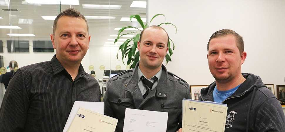 Two thirds of A-SAFE'S West Yorkshire manufacturing workforce complete NVQs
