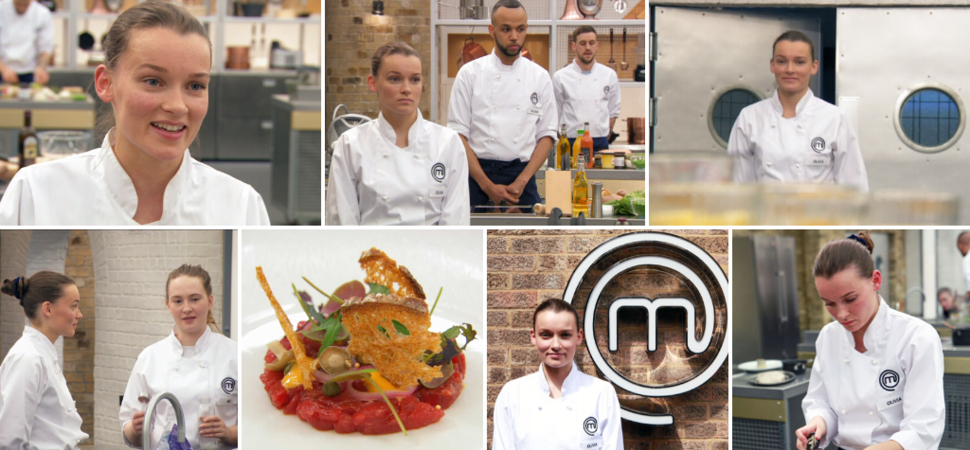 Interview with Olivia Burt on competing in MasterChef The Professionals 2019