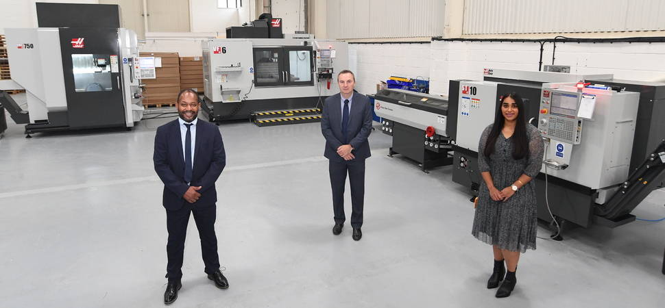 Warwick-based automotive business invests in state of the art machinery
