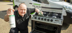 Amersham man launches oven valeting firm