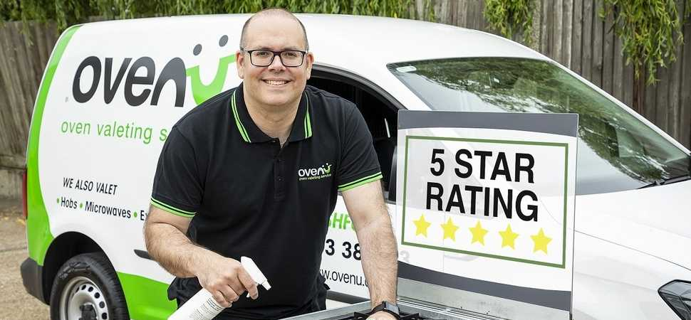 Ovenu Ashford owner celebrates top rated five-star customer reviews