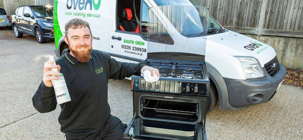 Tom builds upon construction experience to launch oven valeting business
