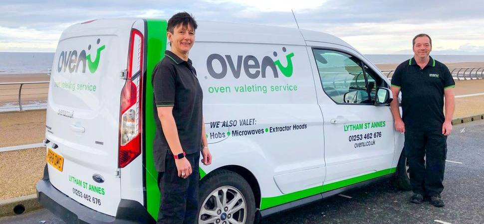 Former army medic Sandra takes on new recruit to meet demand for oven cleaning