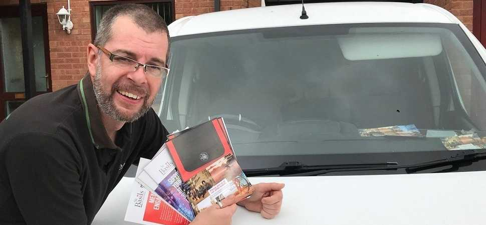 Solihull businessman provides practical support for homeless charity